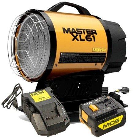 Akumulatorowa bateria litowa 6Ah do Master DC 61