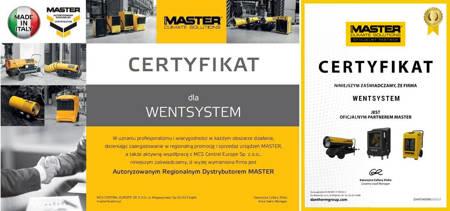 Części eksploatacyjne do nagrzewnic Master B 150 CED, B 150 CEG i B 145 CEL - kod 4519.015