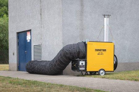 Giętkie przewody czarne + torba 7,6 m, 710 mm Master do BV 691, 4515.365