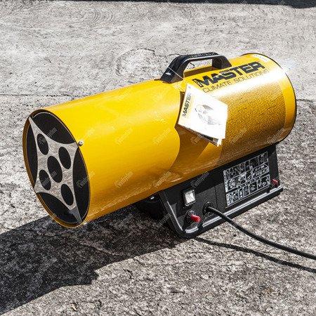 Nagrzewnica gazowa Master BLP 17M + zestaw do sprzęgania butli