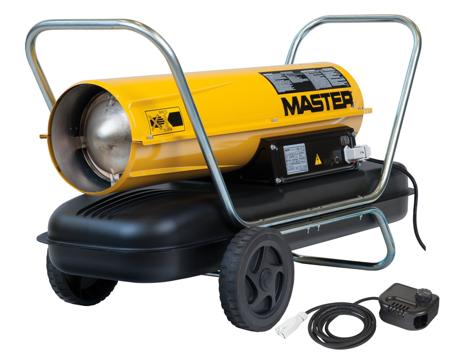 Nagrzewnica olejowa Master B 150 CED + termostat TH5 10-metrowy