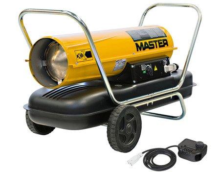Nagrzewnica olejowa Master B 150 CEG + termostat TH5 10-metrowy