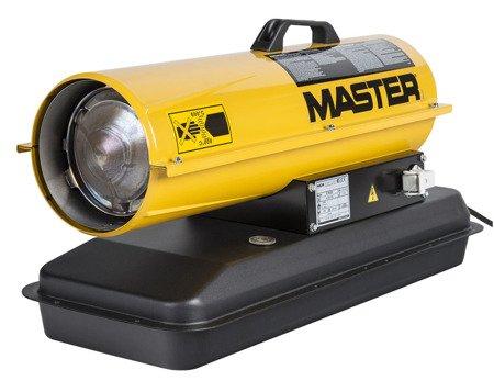 Nagrzewnica olejowa Master B 70 CED + termostat TH5 + zestaw kół