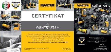 Wentylator osiowy Master BLM 4800 + Przewód giętki 7,6 m 250 mm 4515.559